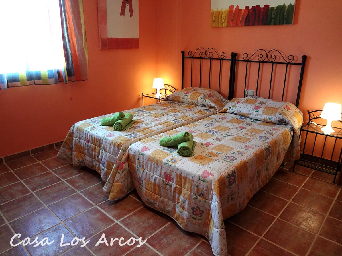 Dormitorio 3: dos camas individuales y sofá-cama de matrimonio
